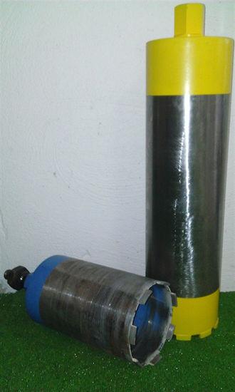 Obrázek Diamantové jádrové vrtáky pro vrtání stavebních materiálu pod vodním výplachem