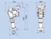 Obrázek Vibrační pěch Weber SRV600i - 63kg