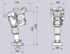 Obrázek Vibrační pěch Weber SRV660 - 70kg