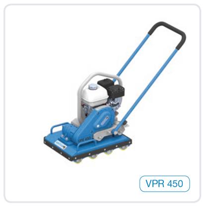 Obrázek Válečková vibrační deska Weber VPR450 - 108kg