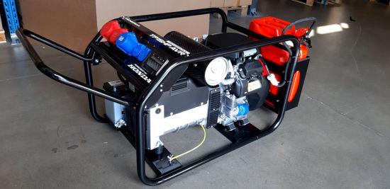 Obrázek TP 12 HP elektrostart, s podvozkem + zásuvkový panel