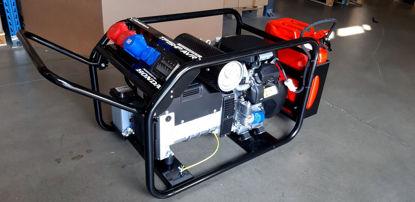 Obrázek TP 12 HP AVR s podvozkem + zásuvkový panel