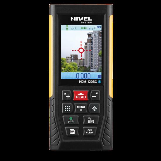 Obrázek Laserový dálkoměr NIVELSYSTEM HDM120BC- dosah 120m  kamera , USB , Bluetooth